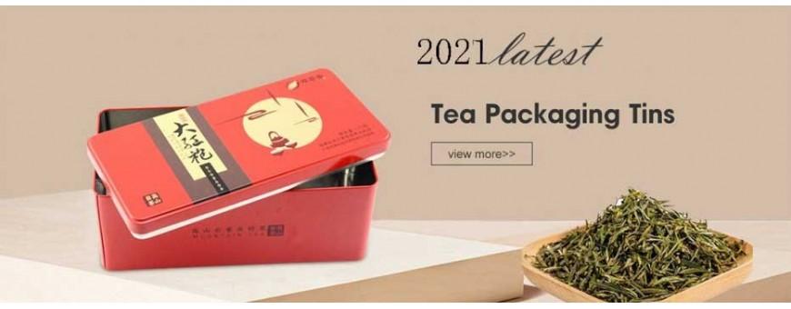 Лучший производитель жестяных коробок для чая оптовый продавец чайных банок