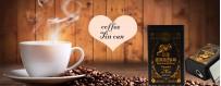 Free design service coffee tin box manufacturer