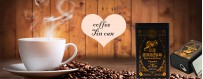 Fabricante de caixa de lata de café de serviço de design gratuito