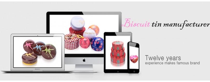 Best Cookie Tin Hersteller Cookie Tin Großhändler
