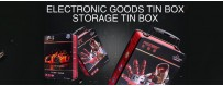 Electronic products tin box packaging wholesale