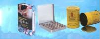 Latas de tabaco personalizadas fábrica personalizada Caixa de lata de tabaco