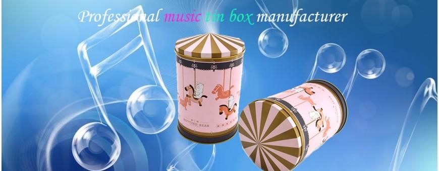 Personnaliser et vendre en gros des jouets de boîtes à musique en étain