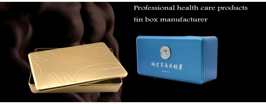Various specifications Health Products Tin box packaging