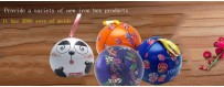 Специальная сферическая оловянная коробка в форме шара