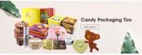 Großhandel maßgeschneiderte beste Süßigkeiten Blechdose Minze Blechdose