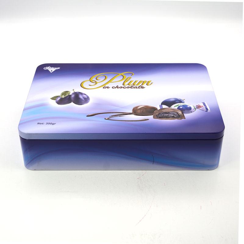 Christmas cookies tin box