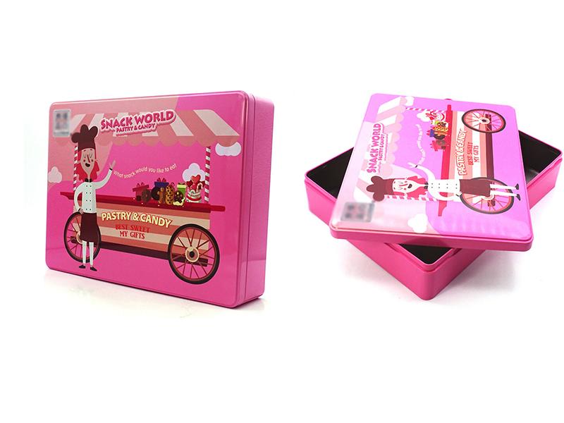Where to buy Christmas candy gift tins
