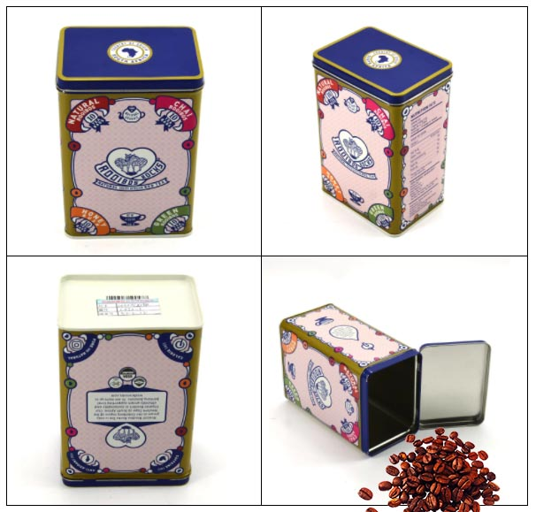 gift coffee tin can manufacturer in China