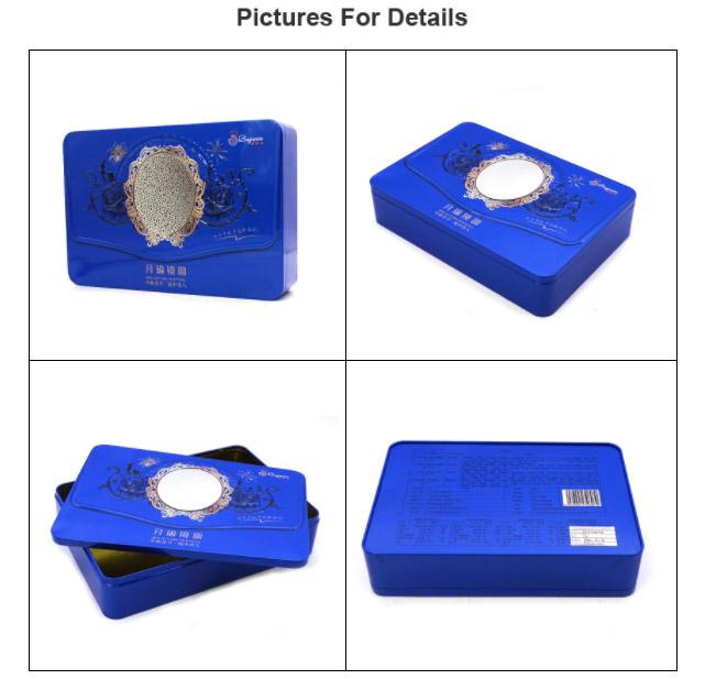 Printing rectangular biscuit tin box series