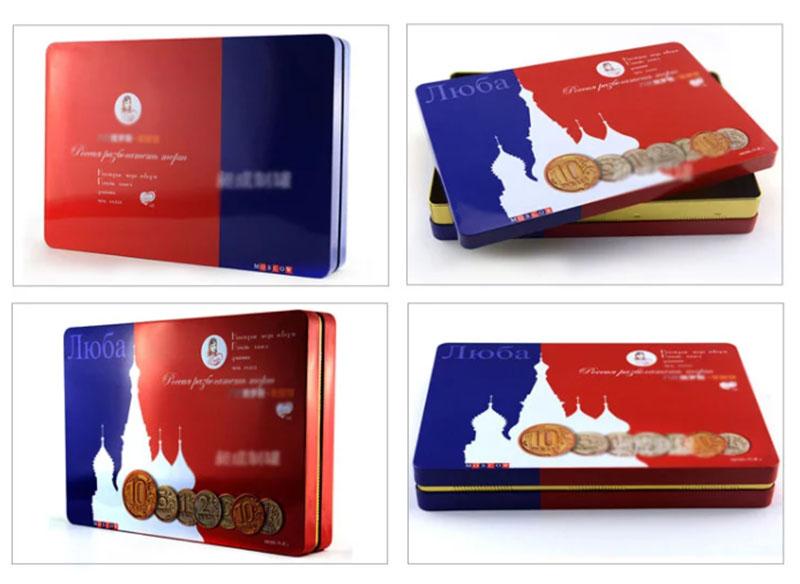Rectangular Butter Biscuit Tin Box Series