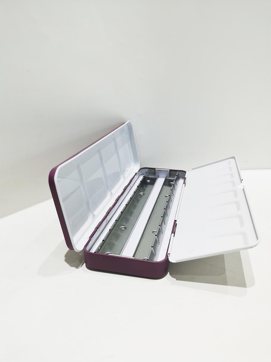Hot sale portable 36 color palette tin box