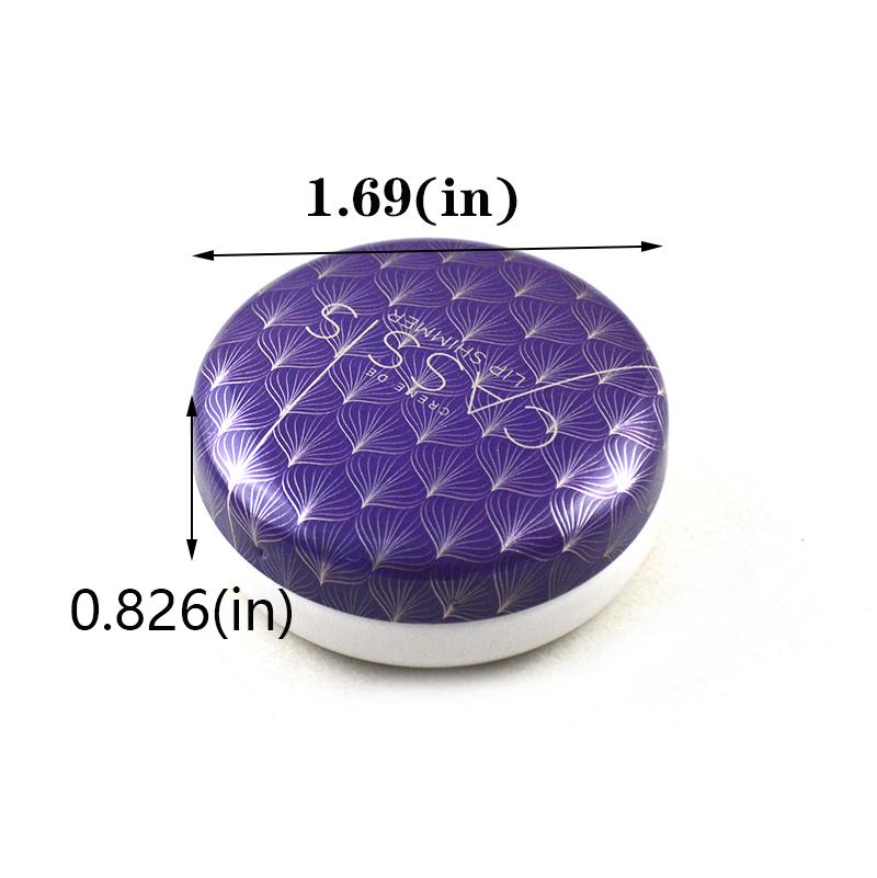 Optimal ointment round tin box size
