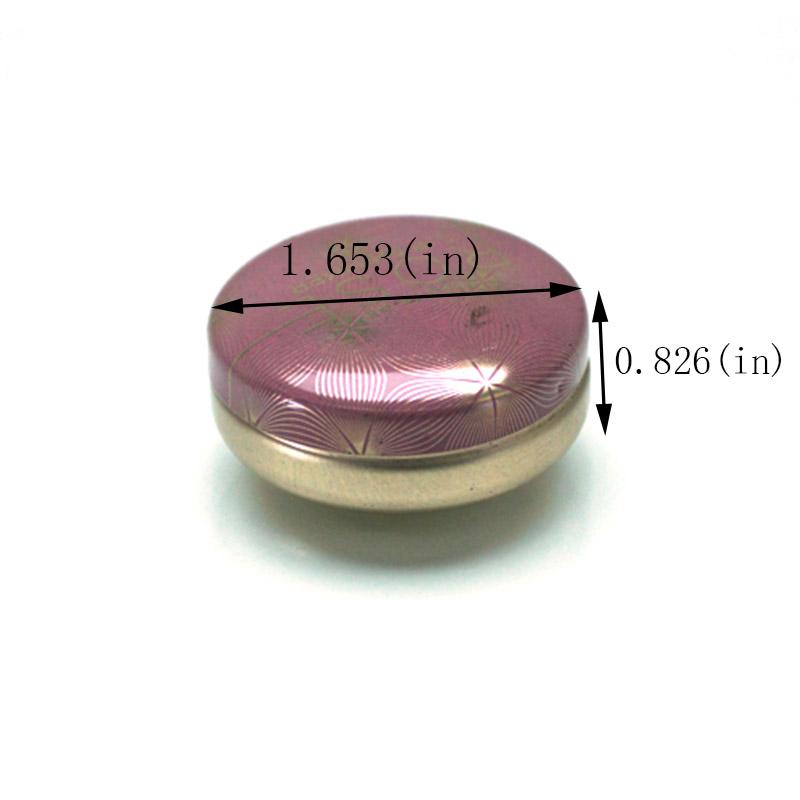 Small round balms tin box size