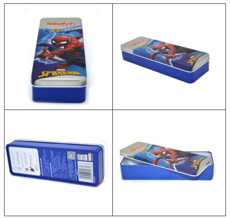 Spiderman rectangular storage tin box series