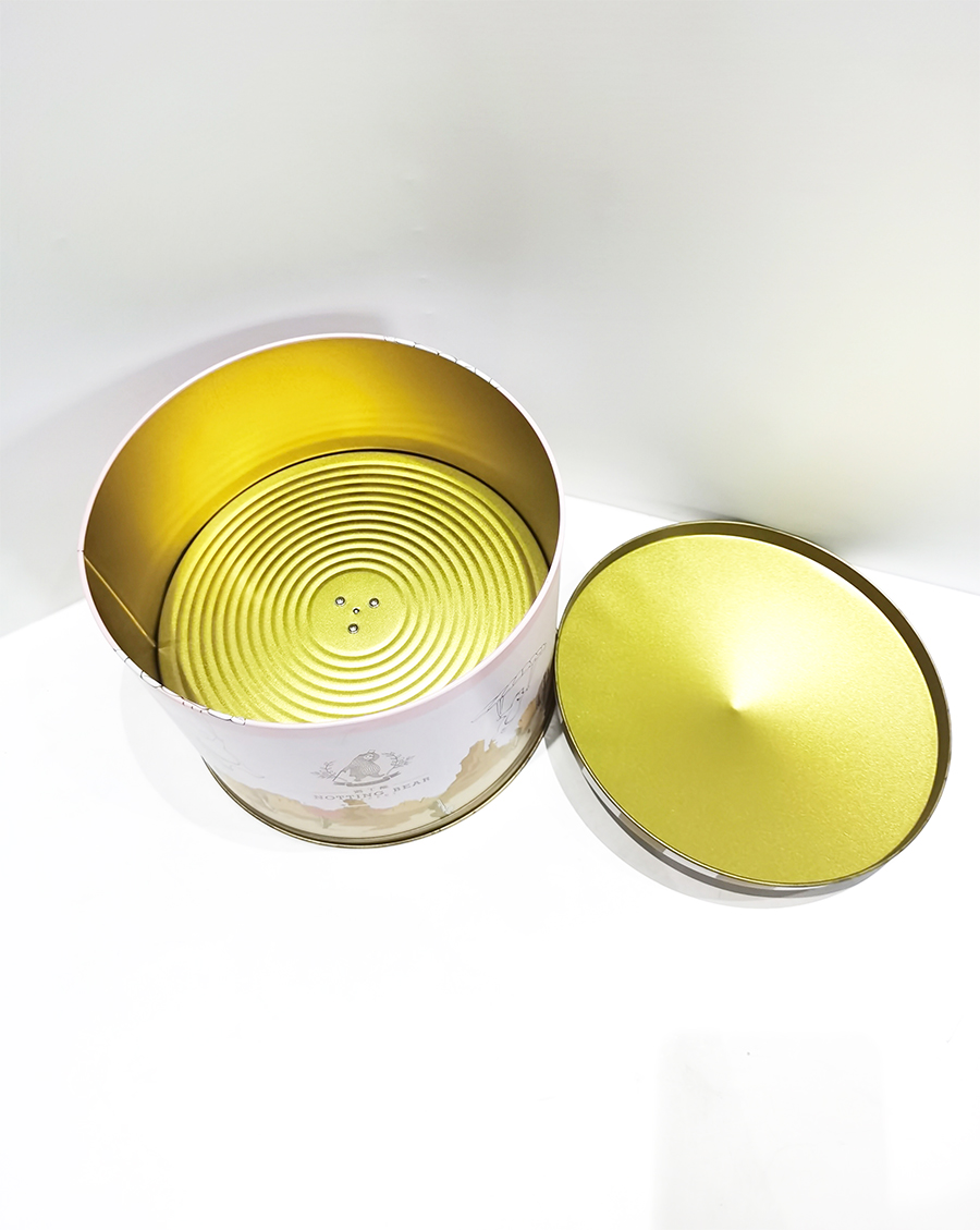 Blank melody music tin box