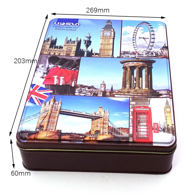 British candy tin box size