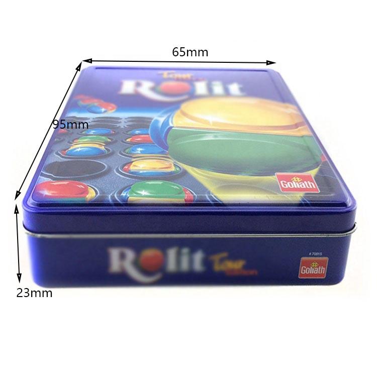 Custom candy metal box size