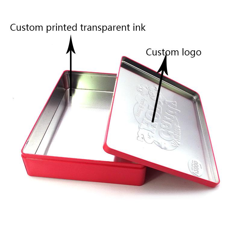 Custom children gift candy tin box