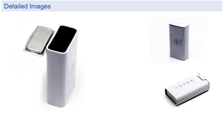 Hinge mint tin box series