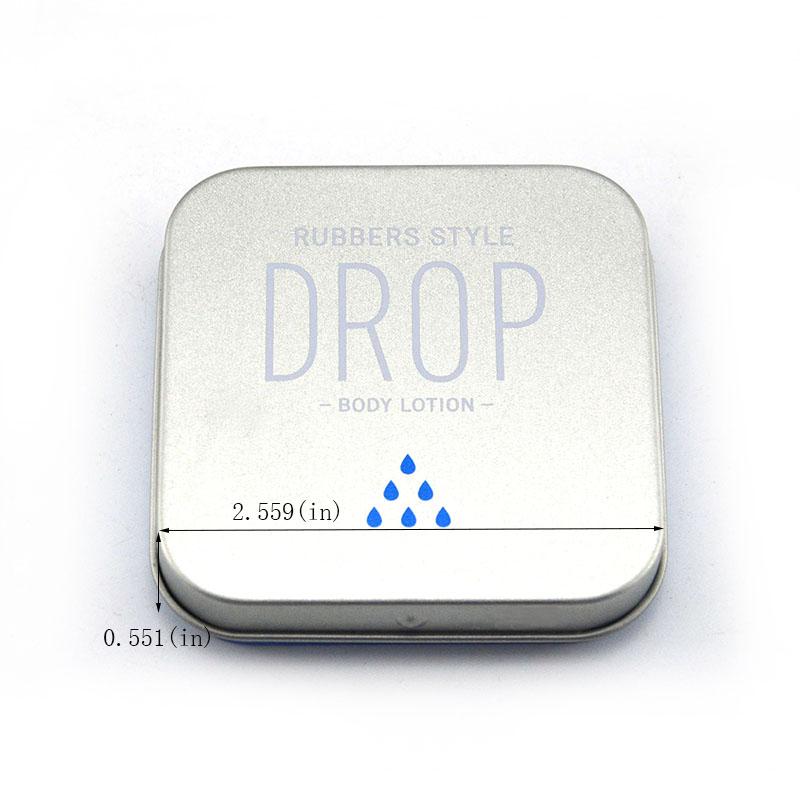 Small rectangular hinge mint tin box size