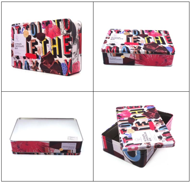 Valentine's Day Chocolate Packaging Tin Box Series