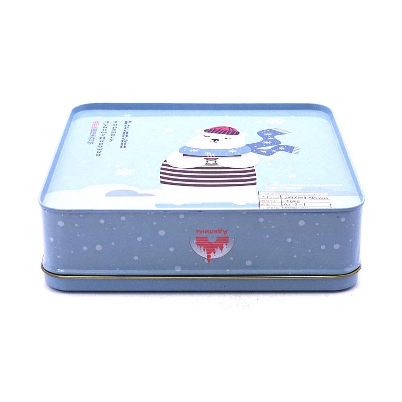 Wholesale Christmas Cookies Tin Box