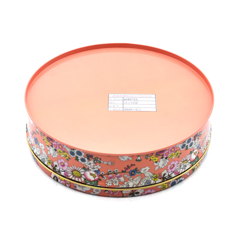 Wholesale cookie tin box france