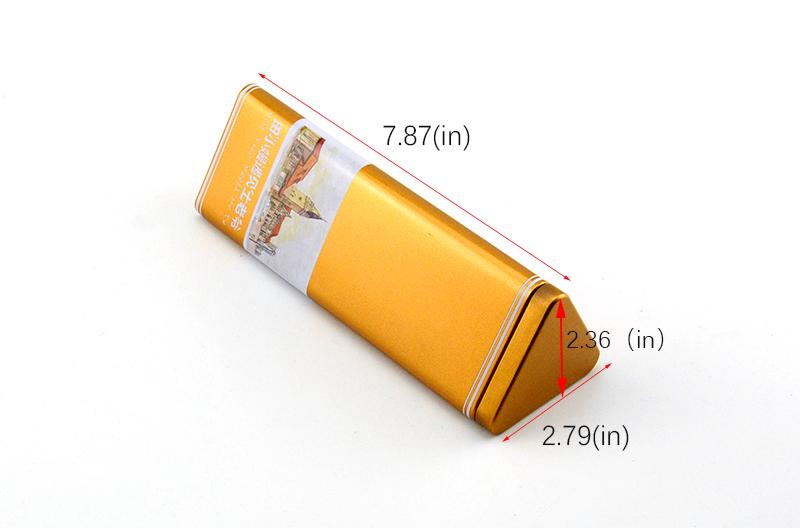 China triangle tin box manufacturer