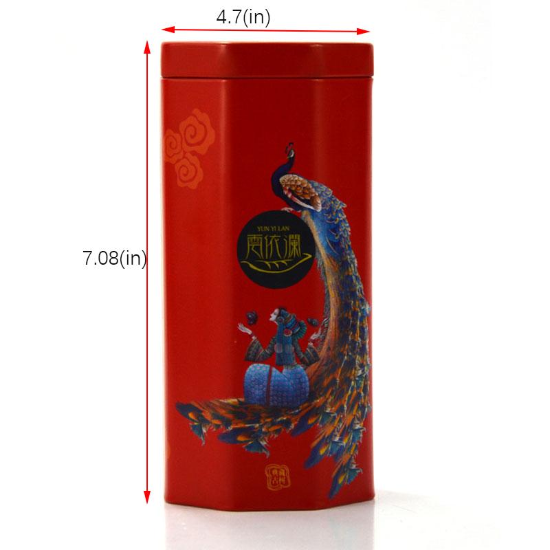 Best octagonal tea tin can manufacturer
