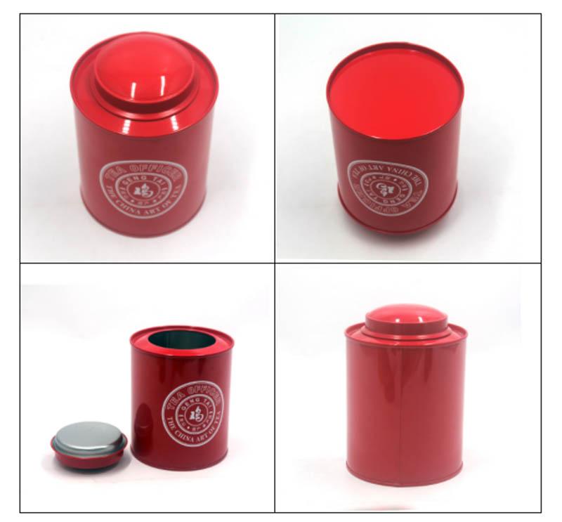 High-quality metal tea can series