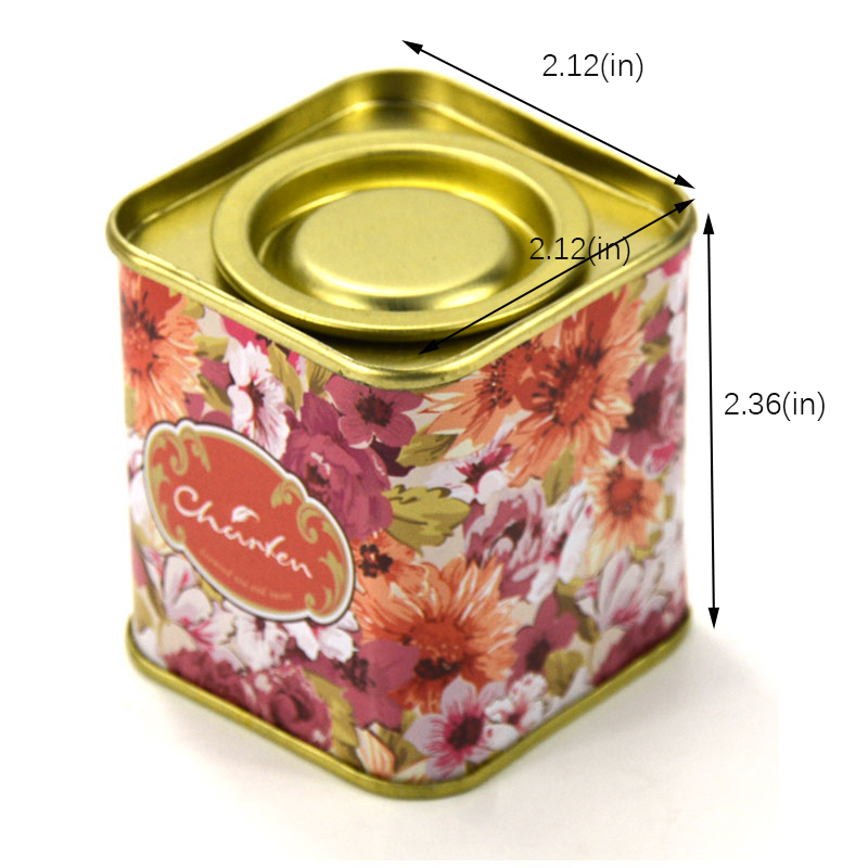 Best Lever Lid Tea Tin Can Size