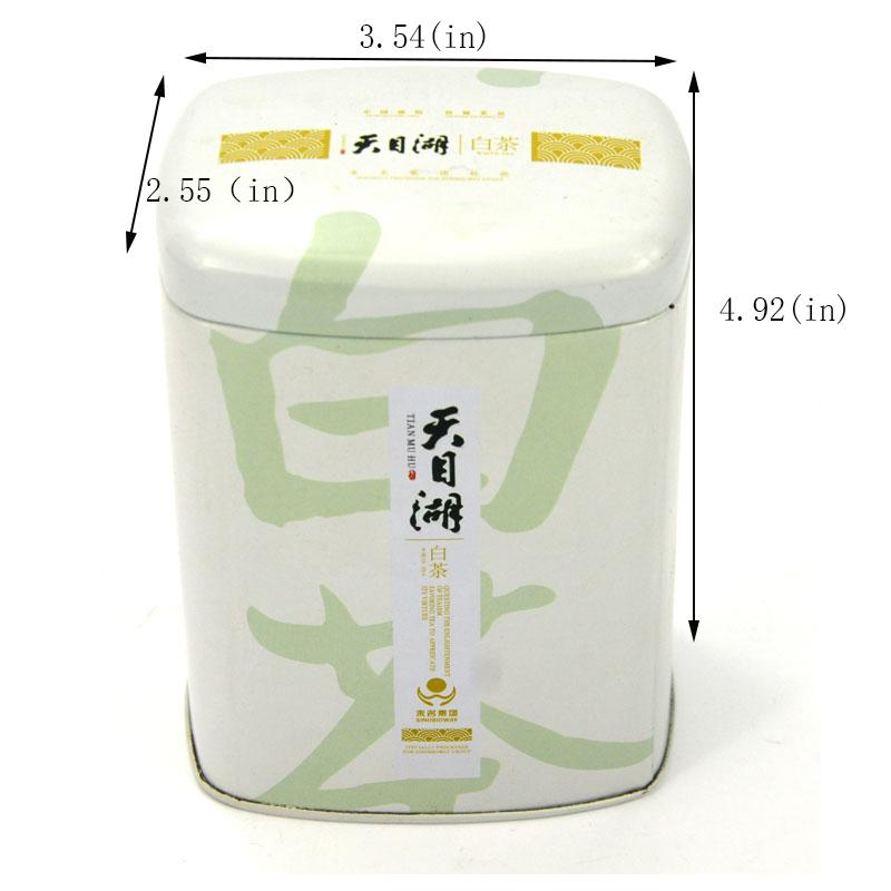 Customized high-quality white tea tin can size
