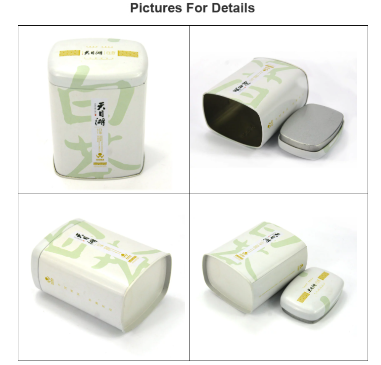 High quality white tea tin can series