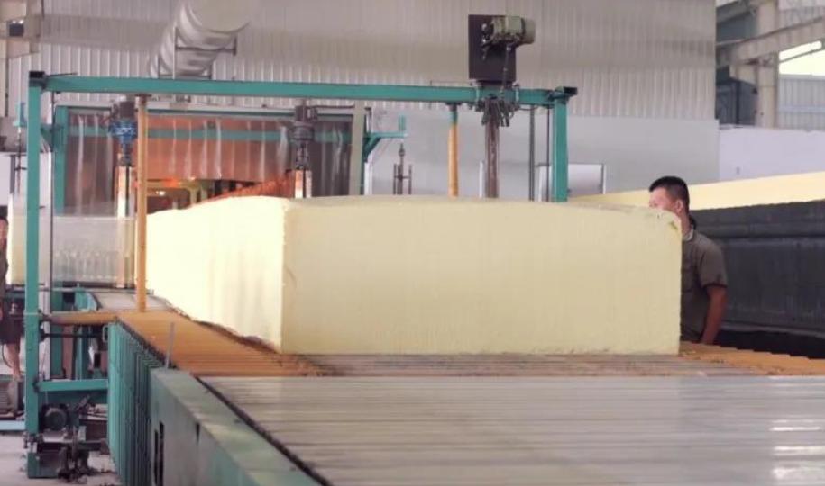 Sponge accessories production
