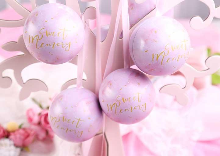 Candy gift christmas ball
