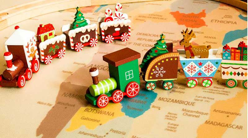Christmas children's gift box series