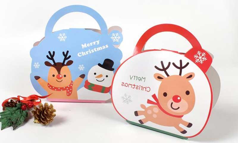 Christmas gift cookie box