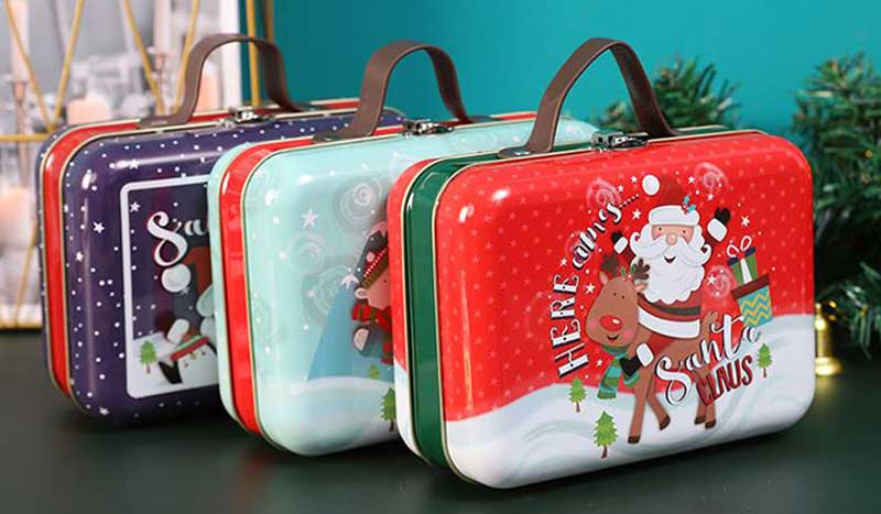 Custom Christmas Cookie Box