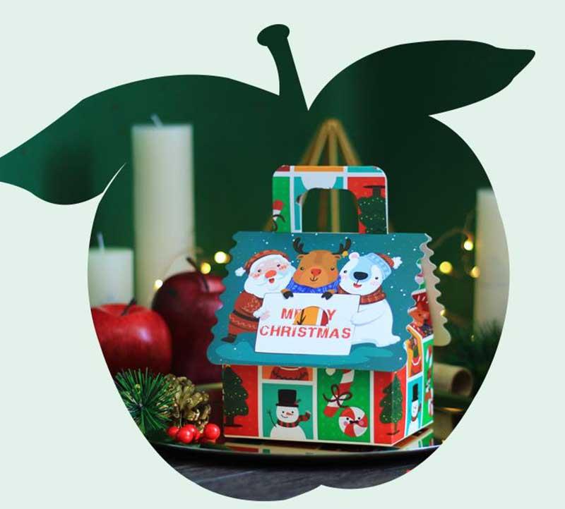 House shape Christmas gift box