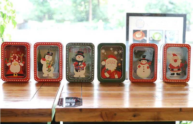 Square Christmas gift box