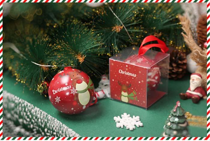 Christmas gift candy iron ball