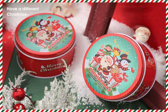 Santa Biscuit Tin Box Series