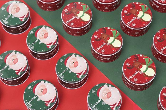 Santa Candy Tin Box