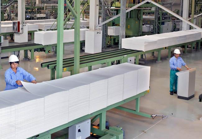 Carton packaging factory