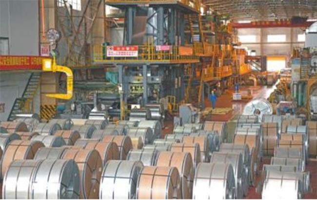 Metal packing box factory