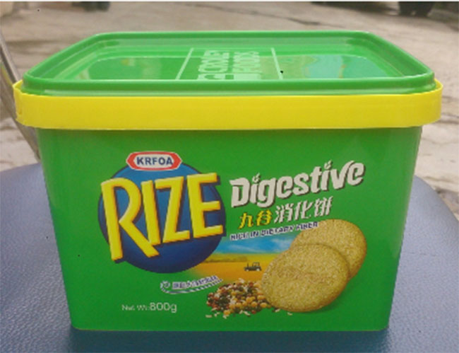 Butter Biscuit Plastic Packaging Box