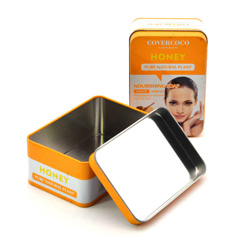 Cosmetic tin box packaging