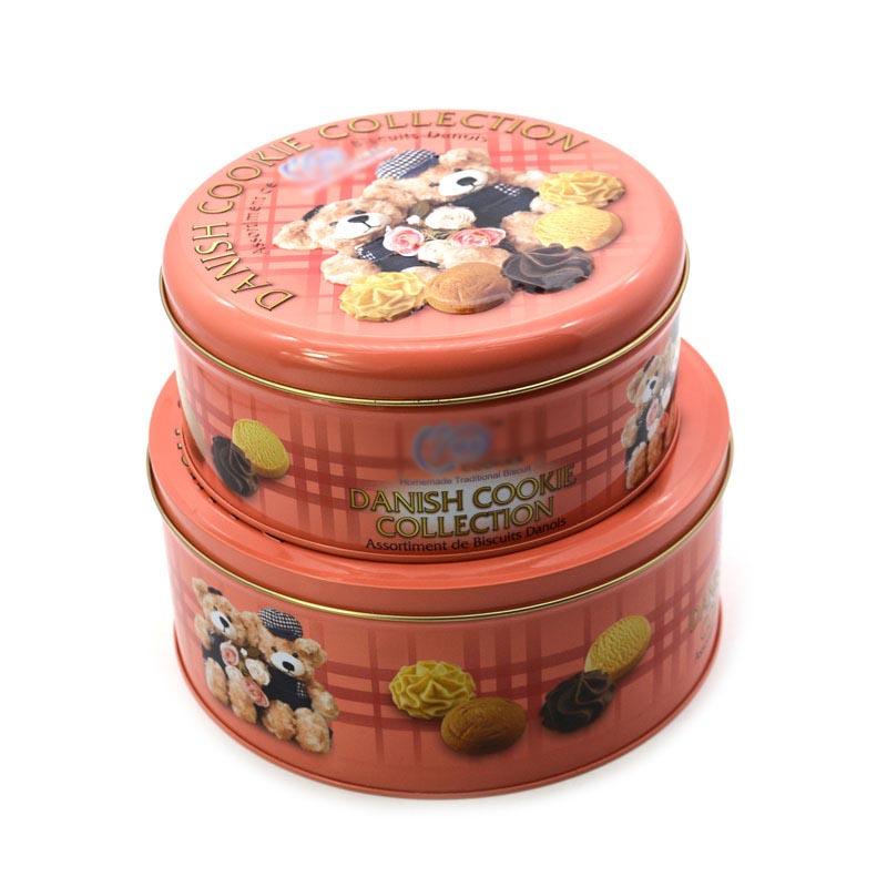 Food pastry tin box