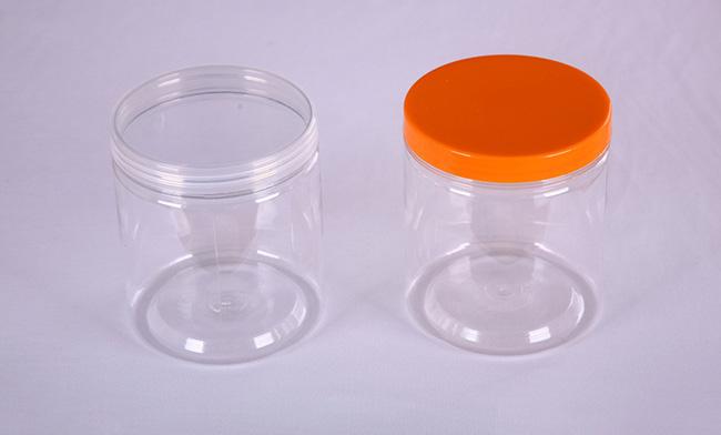 Food plastic jar